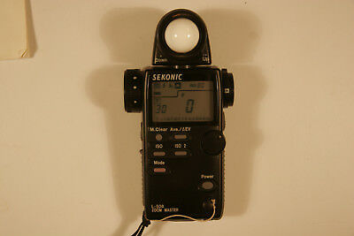 Sekonic L-508 Zoom Master Digital Ambient/Flash/Spot Light Meter.