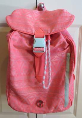Ivivva Coral Tribal Backpack Good Pre-Owned Condition