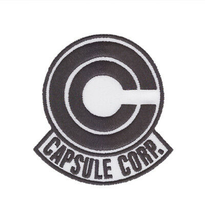 Dragon Ball Z Capsule corp EMBROIDERED PATCH ***USA SELLER***