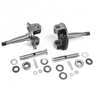 1928-1948 Ford Straight Axle Round Spindle with King Pin Kit Bushings Installed