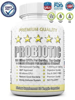 ULTRA PROBIOTIC 50-100 Billion CFUs NOW ULTIMATE FLORA PRIMAL NATURE'S KEY ALIGN