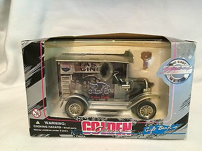 Golden Classic Pepsi Cola Die Cast Bank