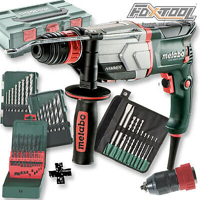 Metabo Multihammer UHE 2660-2 Quick Set [45-tlg] SDS-plus Bohrhammer Stemmhammer