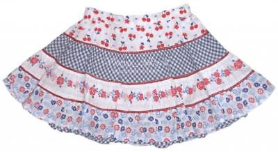NEW PUMPKIN PATCH Tiered Skirt PICNIC IN PROVENCE Adjustable Waist 12-18 mo $39
