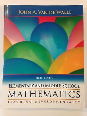 New elementary and middle school mathematics 9e karp john van walle elementary middle school mathematics 6th edition john an de walle very good fandeluxe Image collections