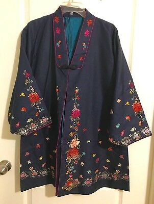 Korean Traditional  Hanbok Half Coat Durumagi Size M +  HANBOK CLUTCH