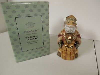 "G. Debrekht 2003 Russian Santa ""Bear Friend Santa""  #51788-21"