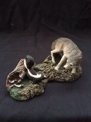 call of the wolf figurines