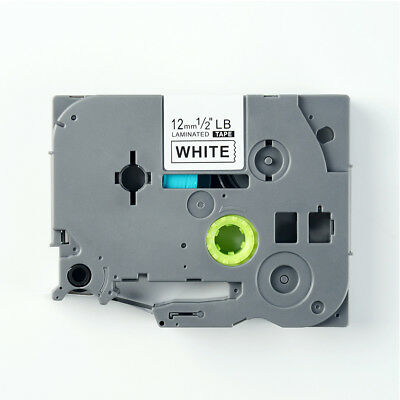 TZ-231 TZE-231 Black on White Label Tape Compatible Brother P-touch 26.2ft 12mm