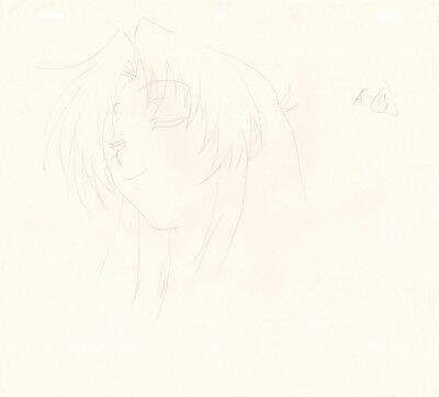Anime Genga not Cel Full Metal Panic #70