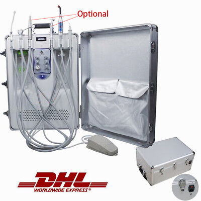 Dental Mobile Delivery turbine Unit & Curing Light Ultrasonic Scaler BY DHL CE