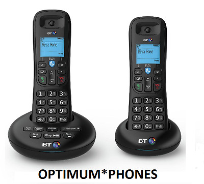NEW BT 3540 Twin Digital Cordless Telephone with Answer Machine