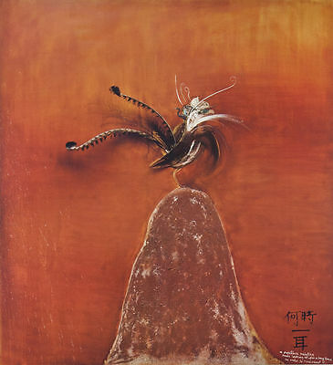Brett Whiteley - Lyrebird  - Art Gallery Of New South Wales