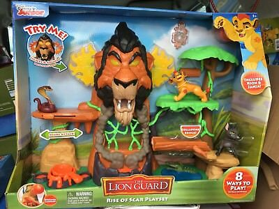 Disney Junior The Lion Guard The Rise of Scar Play set