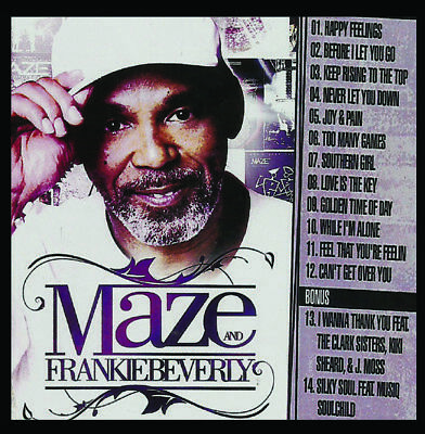 Best Of Frankie Beverly & MAZE DJ Compilation Mix CD Old School Lovers Mix