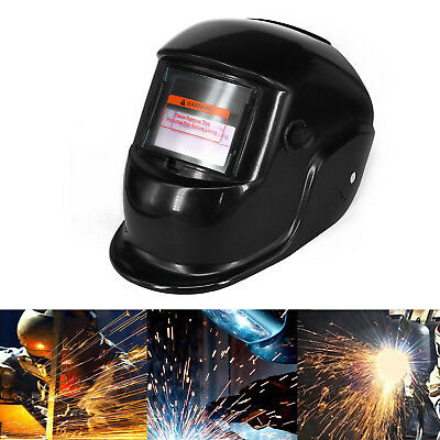 Auto Darkening Welding Mask Helmet Grinding Solar Power PP Safety Protects Face