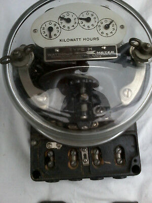 Sangamo Watt Hour meter type H-----usable