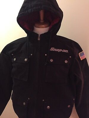 SNAP-ON Tools Winter Jacket Adult Size XXL Hooded &Insulated &Very warm! NEW!