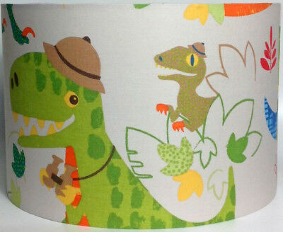 Dinosaur Safari Large Fabric Ceiling Shade