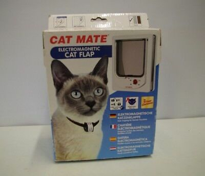 Unopened Boxed With Instructions Cat Mate Electronic Cat Flap 4 Way Lock