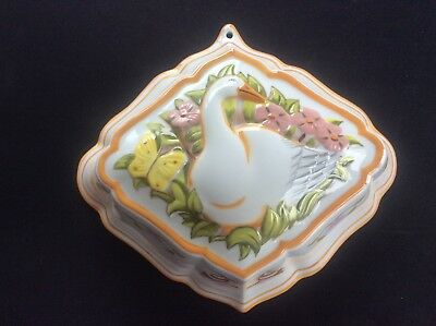 Ceramic Jelly Mould The Franklin Mint Le Cordon Bleu Victorian Style Cookware 1