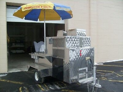 Deluxe Food Cart with Coffee