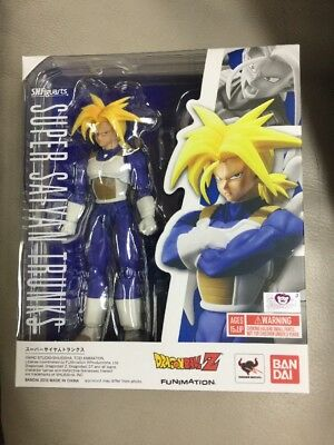 New Bandai Tamashii S.H Figuarts Dragonball Z Super Saiyan Trunks