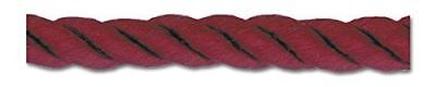TRIMPLACE WINE 6MM TWIST CORD 10 Yards