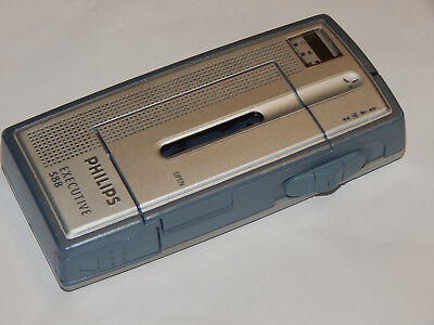 Philips Pocket Memo EXECUTIVE 588 Portable Mini Cassette Tape Recorder