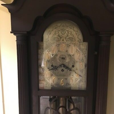 Herschede Grandfather Clock, great antique clock, serial number 46026