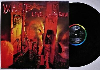 W.A.S.P. -  LIVE... IN THE RAW - Vinyl LP OIS