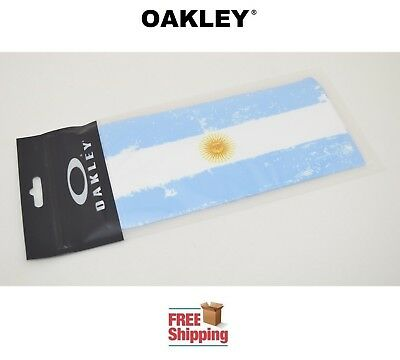Oakley® Sunglasses Eyeglasses Microclear Cleaning Storage Bag Argentina Flag New