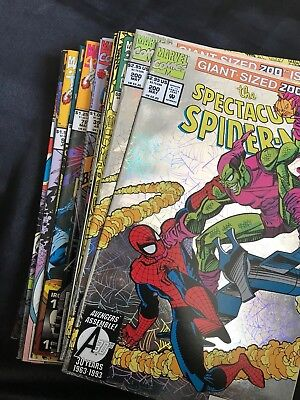 Lot Of 22 Marvel Variety Lot Comic Books, The Amazing Spider-Man, Avengers *