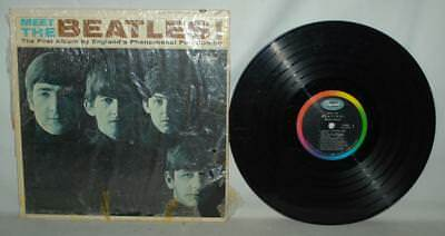 The Beatles Meet The Beatles T2047 Mono Vinyl Album Capitol Records ~R1