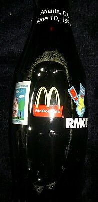 COKE BOTTLE ATL McDONALD HOUSE OPENING 94 (VERY RARE) + HTF NEVER SOLD IN STORES
