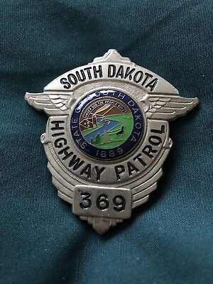 Historisches Abzeichen - South Dakota Highway Patrol, Firma Göde