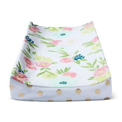 Plush Changing Pad Cover Floral - Cloud Island™ - Gold    FREE SHIPPING  B2 004