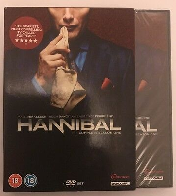 Hannibal: The Complete Season One DVD (2013) NEW & SEALED
