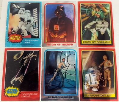 STAR WARS CHROME ARCHIVES  Trading Card Set of 90 topps  1999 + empty Box