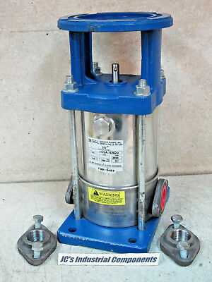 Goulds,    Ssv 1Sva1E5D0,   Vertical Multi Stage Pump,  4 Stage