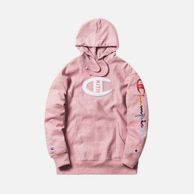 b8687d989f01f IN HAND  KITH x Champion Double Logo Crewneck White Small DS  IN ...
