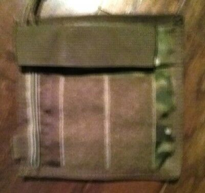 Tactical Assault Gear TAG  Camo  MOLLE Admin w/ Flashlight pouch