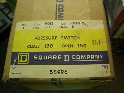 Square D 9013 GHG-2 Series B Form PX, New