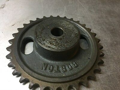 Boston Gear KSB-32C Steel Sprockets, LOT OF 2, NOS, Metal Art, Steampunk, Indust