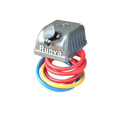 Runva Winch Parts - Complete 12V Control Box With Cables- Grey