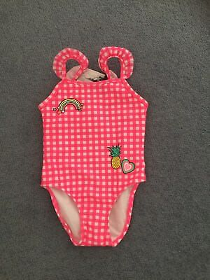 baby girl swimmers togs swimwear  NEW size 2 swimsuit