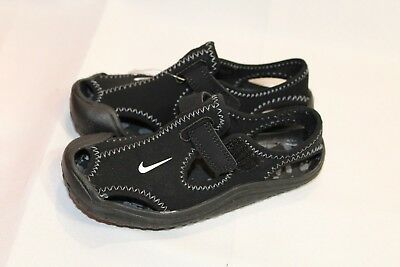 New Infant/Toddler Black Nike Sunray Protect athletic sandals/shoes