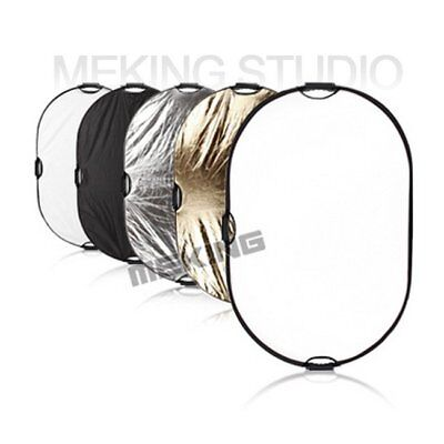 """24x36"""" 5in1 Photography Light Mulit Collapsible Portable Photo Reflector 60x90cm"""