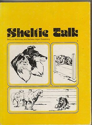 Sheltie Talk Betty Jo Mckinney Hb First Edition 1976