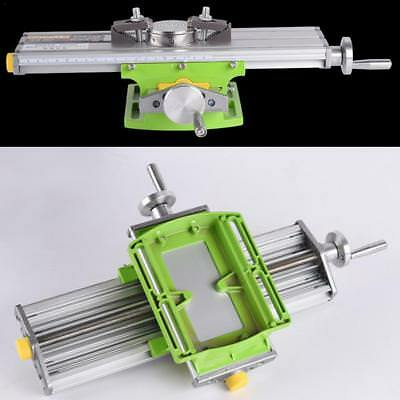 Multifunction Milling Working Cross Table Milling Machine Slide Bench Vise Drill